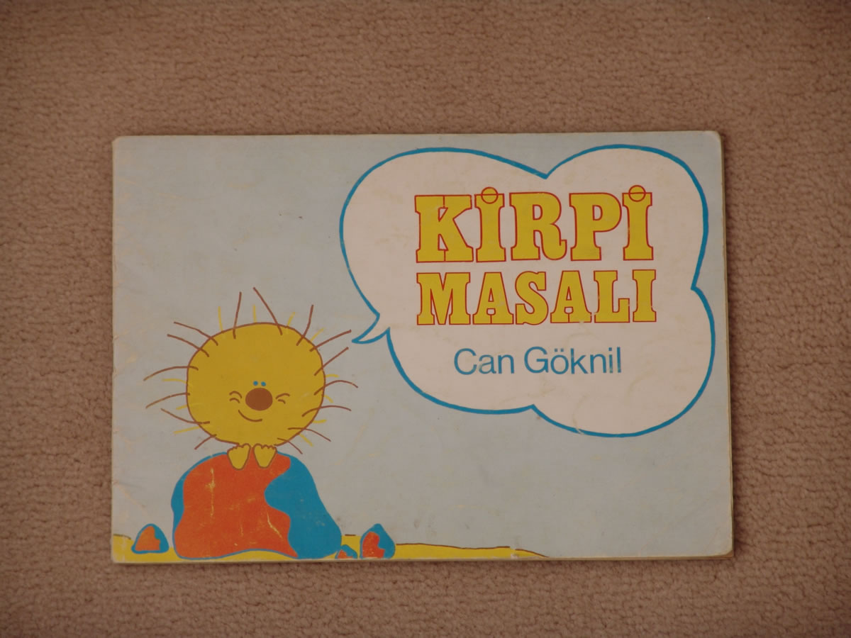 1st picture book by Can Göknil 1974
