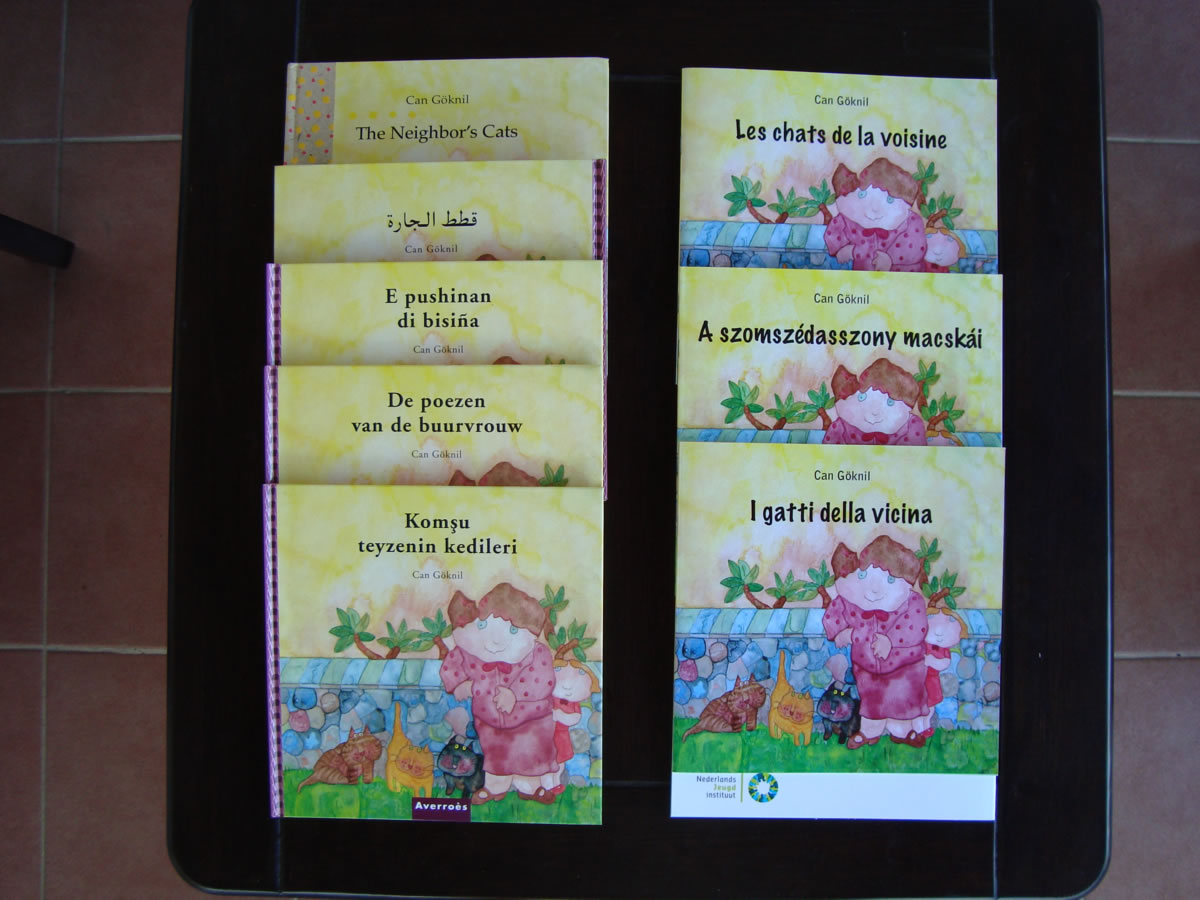 Can Göknil's books From the Netherlands