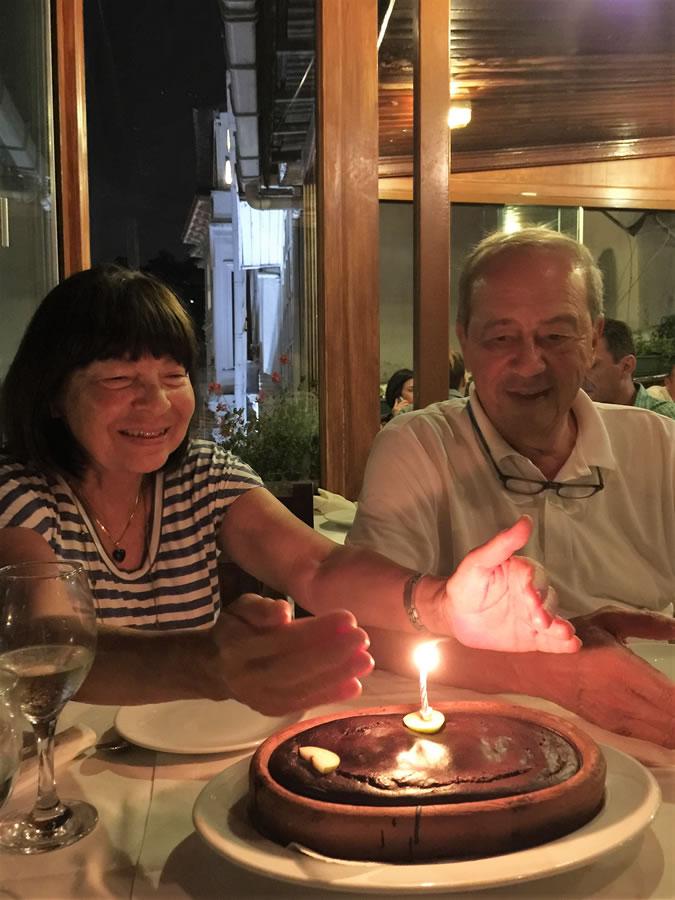 Göknil celebrates her 71st birthday