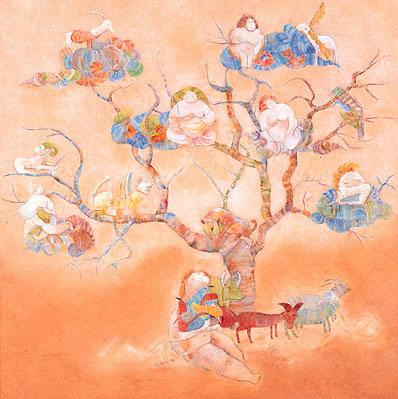 Ak Ana ve Hayat Ağacı