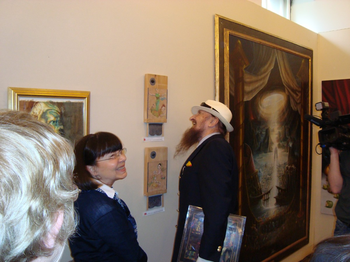 Phantasten-Museum-Vienna-Exhibit-with-Fuchs-2011