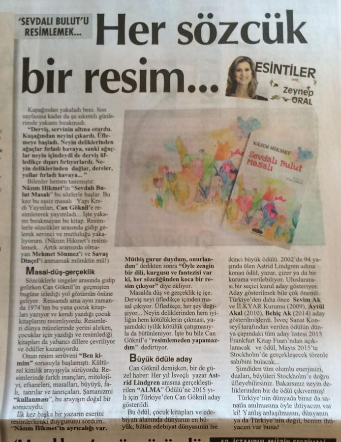 Zeynep Oral'ın köşe yazısı